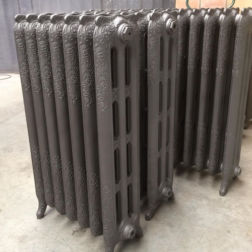 ornated  3 column radiators
