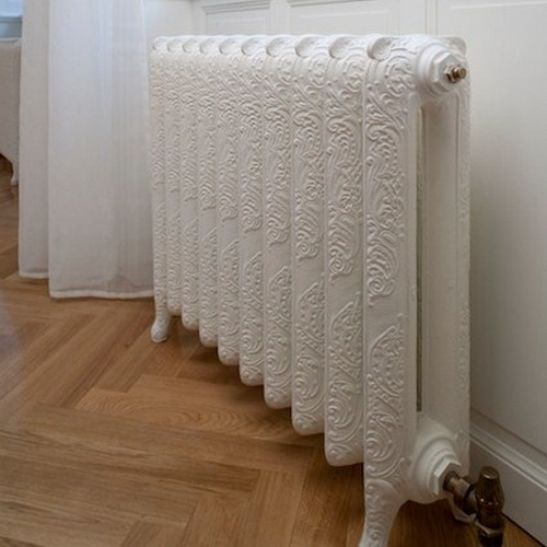 ornate 2 column radiators