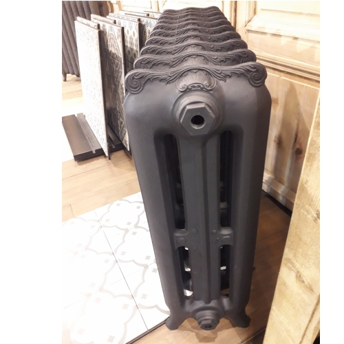 3 column cast iron radiator inornate
